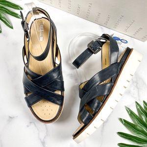 NIB Geox Respira Darline Strappy Platform Sandal